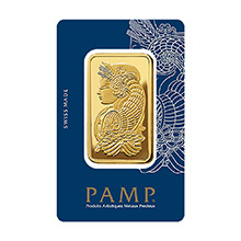 50 gram Gold Bar Pamp Suisse Fortuna with VERISCAN .9999 Fine 24kt (in Assay)