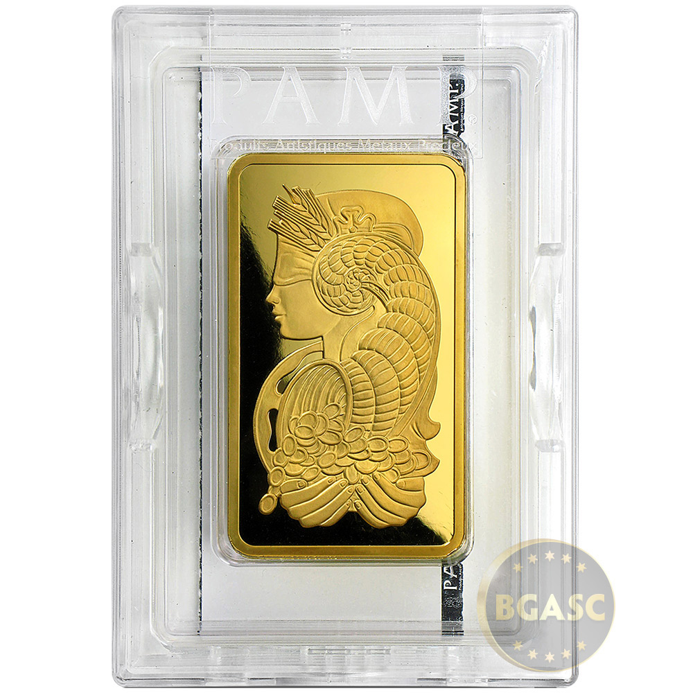 Buy 5 Oz Gold Bar Pamp Suisse Fortuna W Veriscan 9999