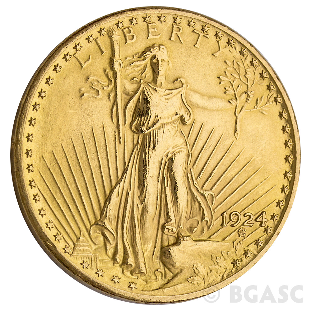 1 AIRTITE COIN HOLDER CAPSULE DIRECT FIT H34 LIBERTY GAUDENS $20 GOLD