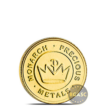 Treasure Chest of 5 x 1 gram Gold Tall Ship Rounds - Image