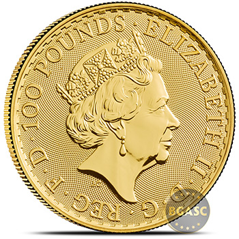 2020 1 oz Gold Britannia Bullion Coin Brilliant Uncirculated .9999 Fine 24kt - Image