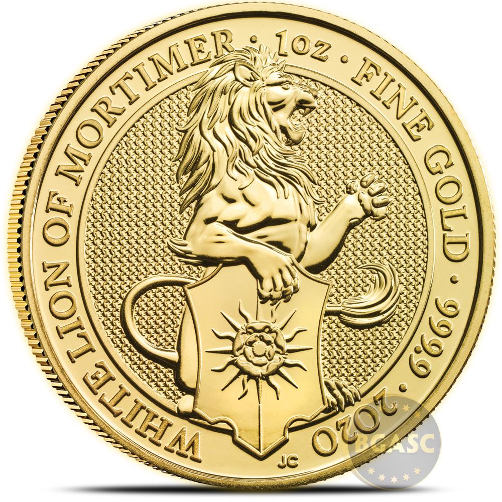 2020 1 Oz Gold British Queen S