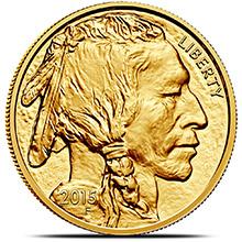 2015 1 oz American Gold Buffalo Brilliant Uncirculated .9999 Fine 24kt