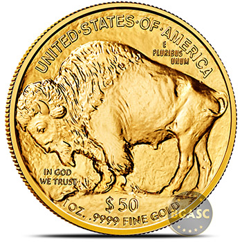 2018 1 oz American Gold Buffalo Brilliant Uncirculated .9999 Fine 24kt - Image