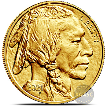 2021 1 oz American Gold Buffalo Brilliant Uncirculated .9999 Fine 24kt