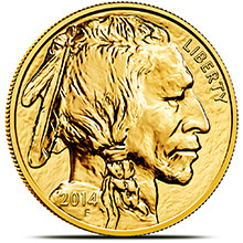 1 oz American Gold Buffalo Brilliant Uncirculated .9999 Fine 24kt (Random Year)