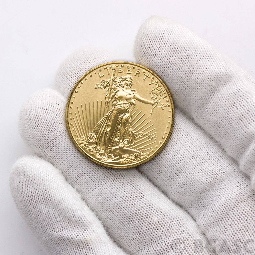 Buy 2014 1 2 Oz Gold American Eagle 25 Coin Brilliant
