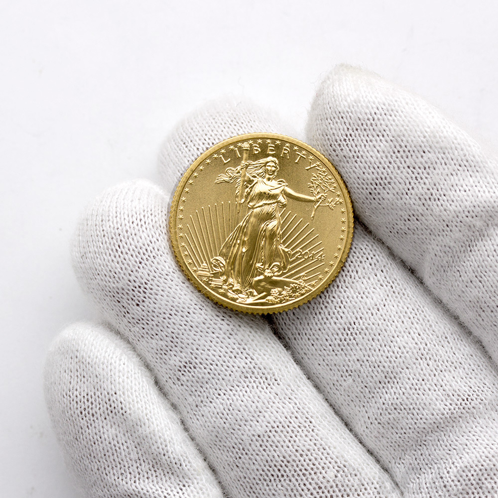 Buy 2014 1 4 Oz Gold American Eagle 10 Coin Brilliant