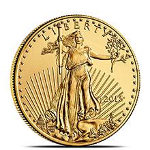 2015 1/2 oz Gold American Eagle $25 Coin Brilliant Uncirculated Bullion