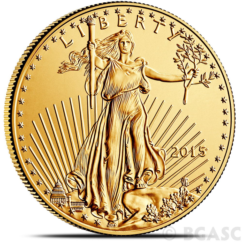 Buy 2015 1 Oz Gold American Eagle 50 Coin Brilliant