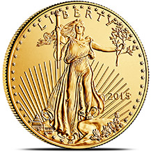 Gold Eagle Coin 2015