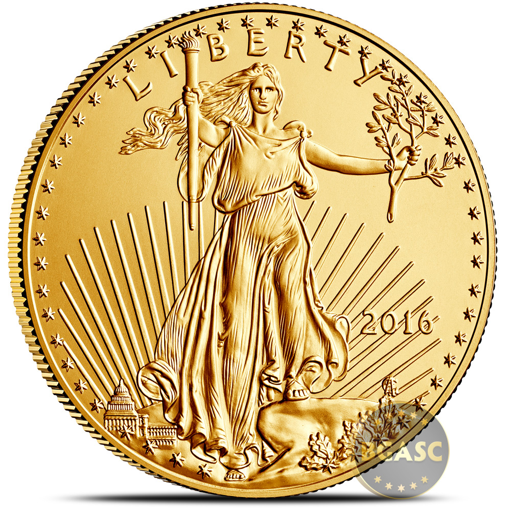 Buy 2016 1 Oz Gold American Eagle 50 Coin Bullion