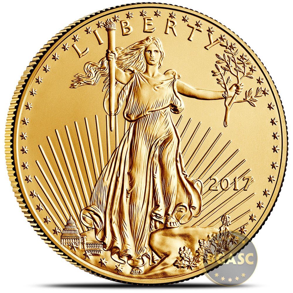 Buy 2017 1 Oz Gold American Eagle 50 Coin Bullion