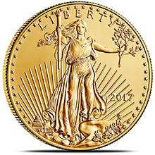 2017 1 oz Gold American Eagle $50 Coin Bullion Brilliant Uncirculated