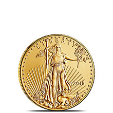 2018 1/10 oz Gold American Eagle $5 Coin Bullion Brilliant Uncirculated