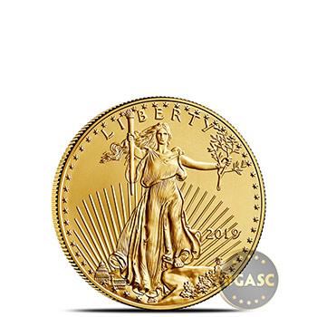 2019 1/10 oz Gold American Eagle $5 Coin Bullion Brilliant Uncirculated