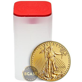 2020 1 oz Gold American Eagle $50 Coin Bullion BU - Image