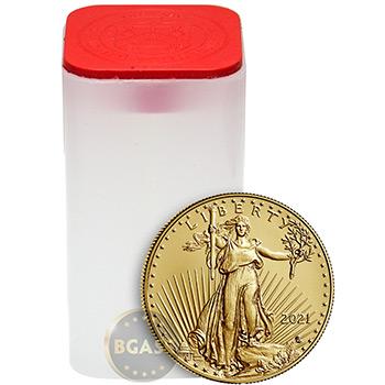 2021 1 oz Gold American Eagle $50 Coin Bullion BU - Image