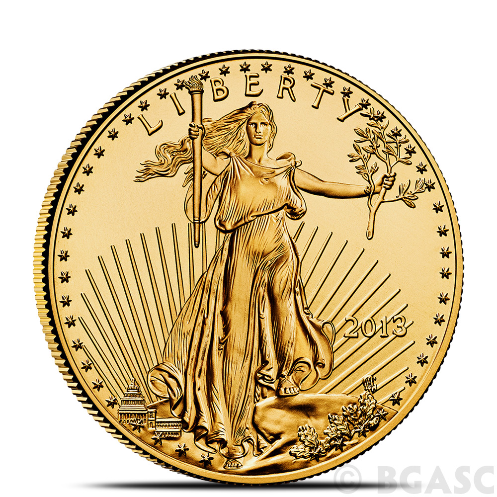 Buy 1 2 Oz Gold American Eagle 25 Coin Brilliant