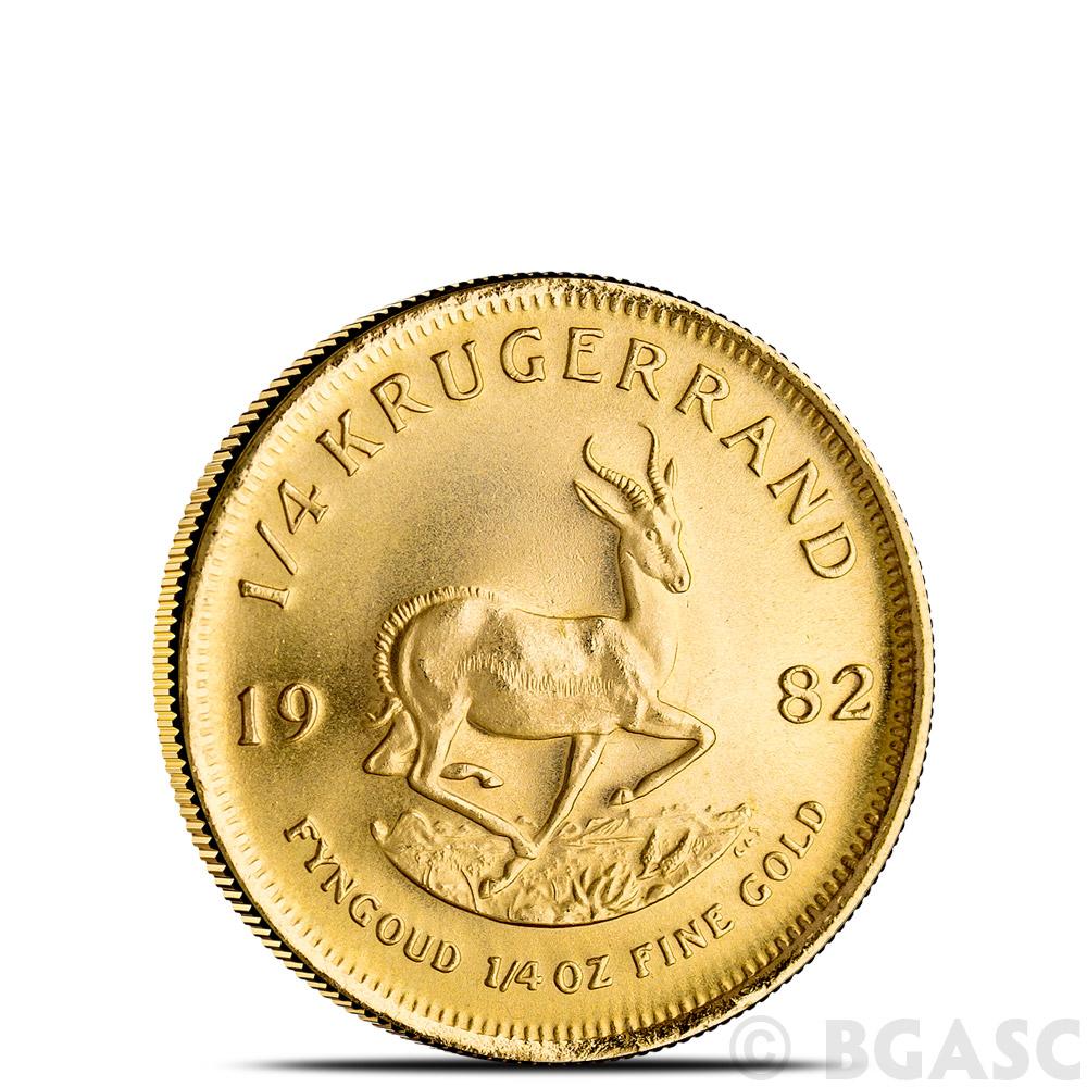 Buy 1 4 Oz Gold Krugerrand South African Bullion Coin