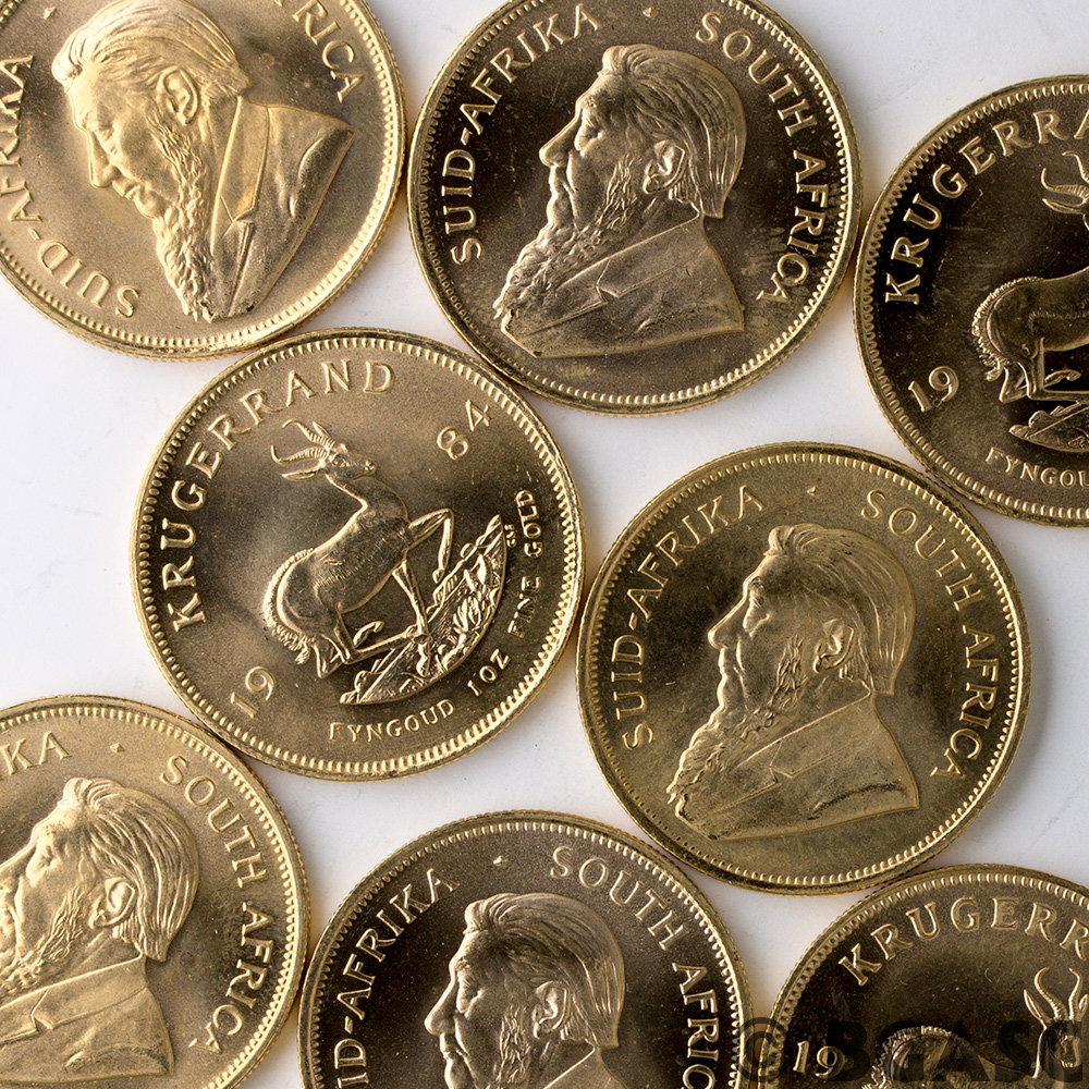 Buy 1 Oz Gold Krugerrand South African Bullion Coin