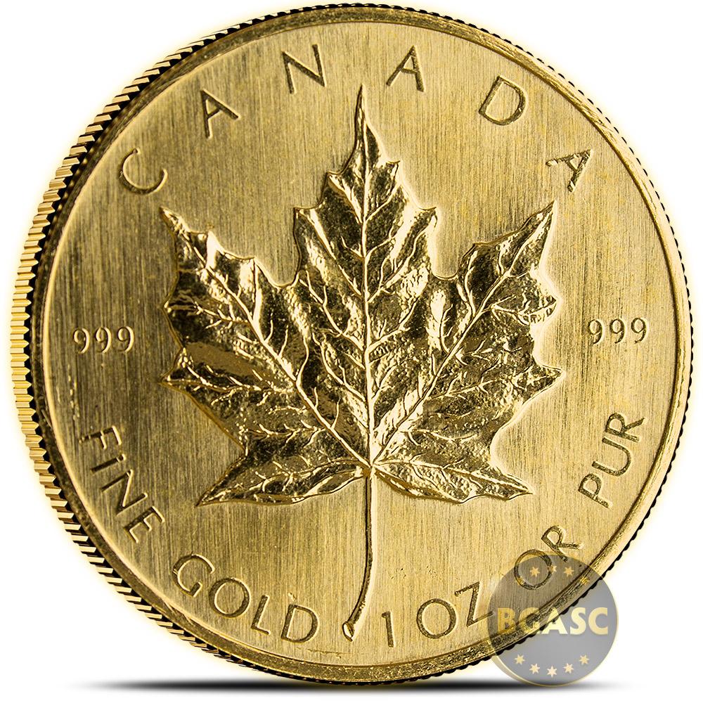 Buy 1979 1 Oz Gold Canadian Maple Leaf Bullion Coin