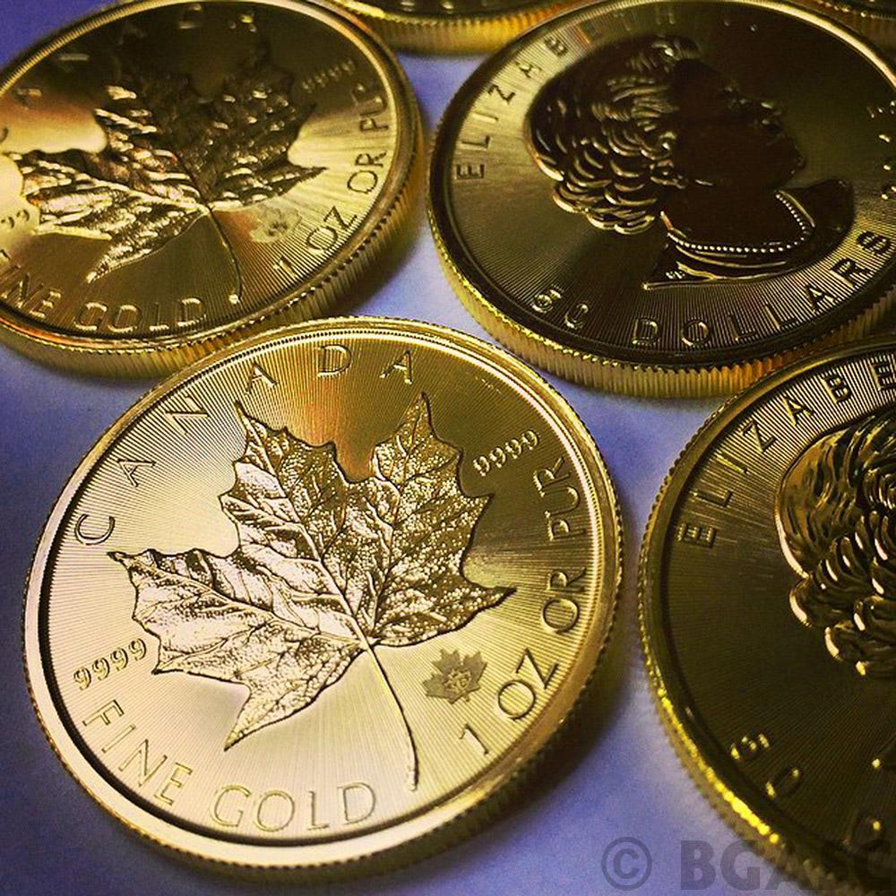 Buy 2015 1 Oz Canadian Gold Maple Leaf Bullion Coin