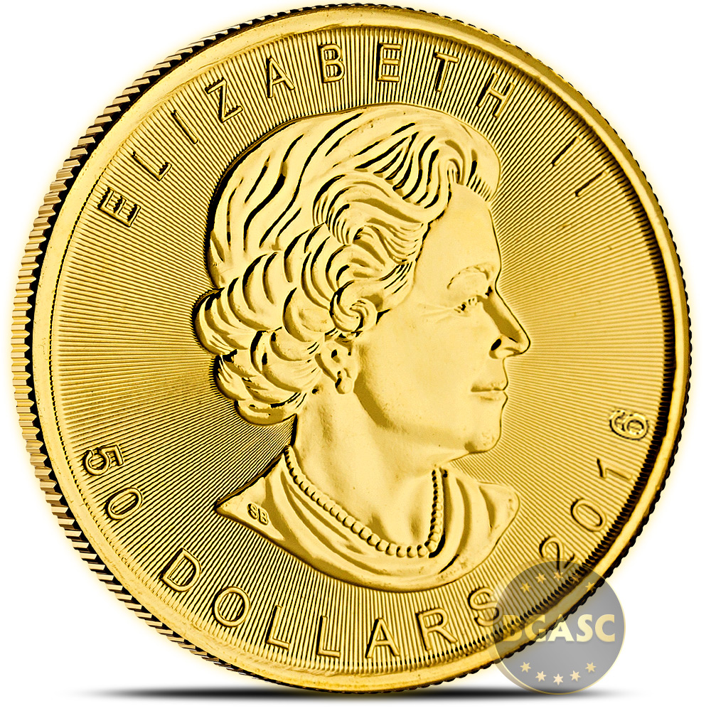 Buy 2016 1 Oz Gold Canadian Maple Leaf Bullion Coin