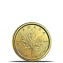 2019 1/20 oz Canadian Gold Maple Leaf Brilliant Uncirculated .9999 Fine 24kt