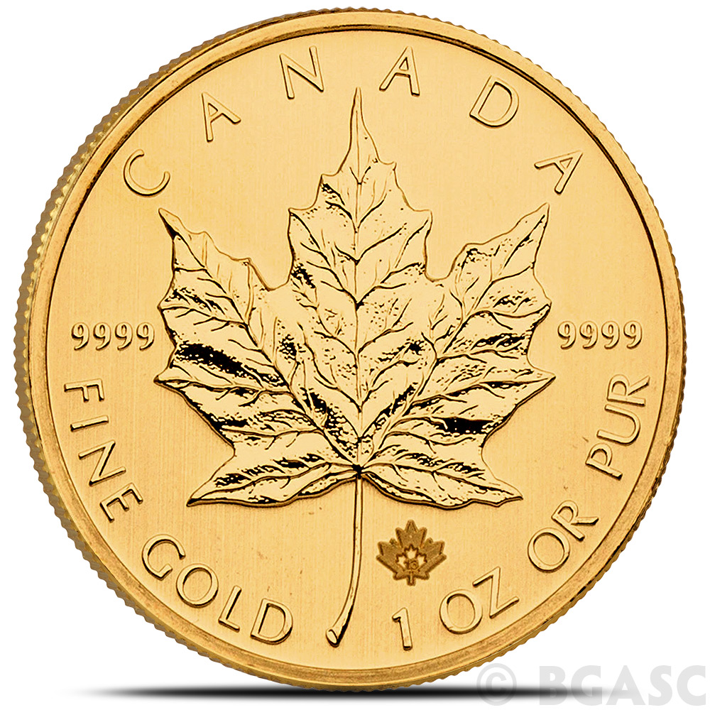 Buy 1 Oz Canadian Gold Maple Leaf Brilliant Uncirculated