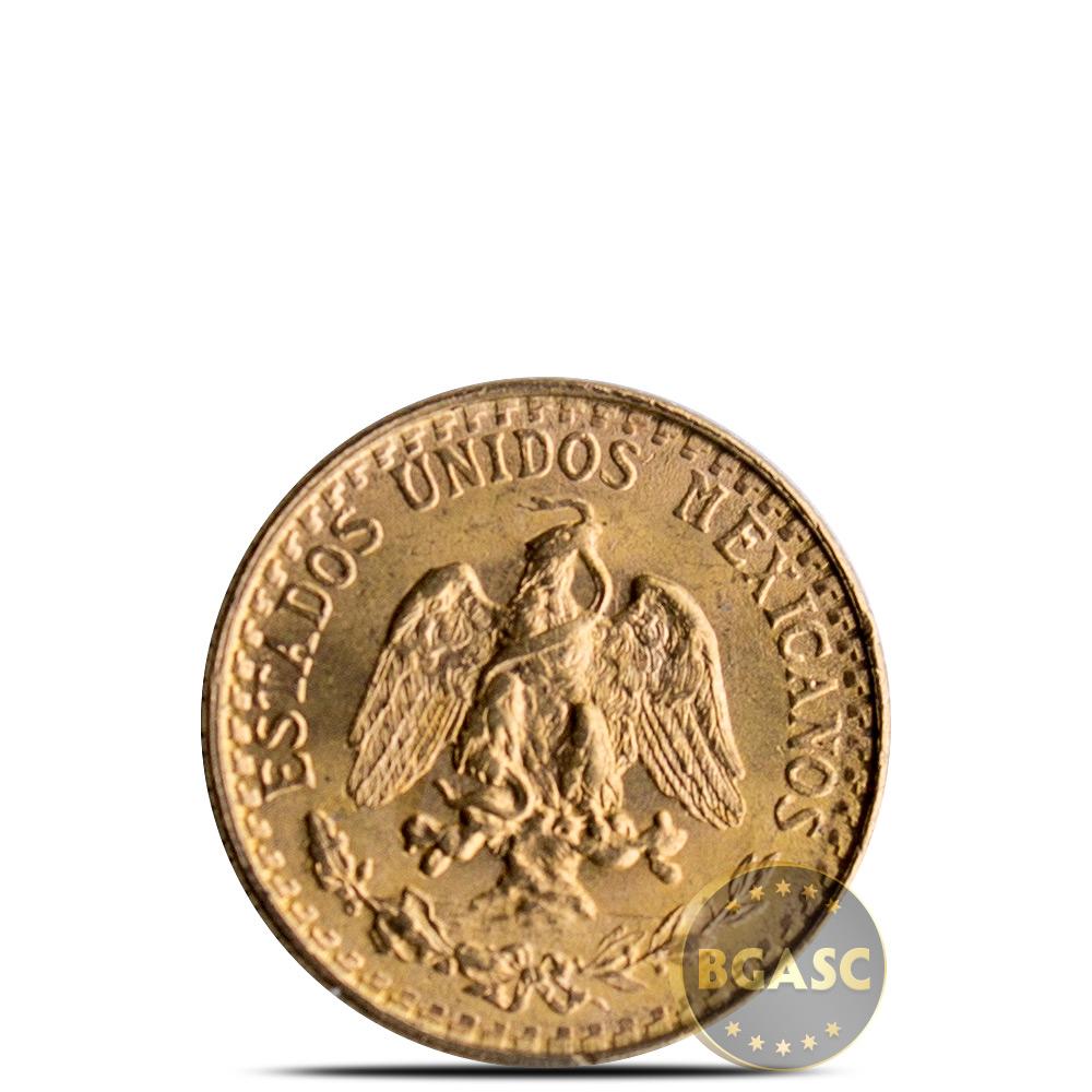 Buy Mexico Gold 2 Peso Agw 0482 Oz Circulated Random