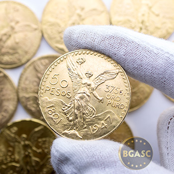 Mexico Gold 50 Pesos AGW 1.2057 - Image