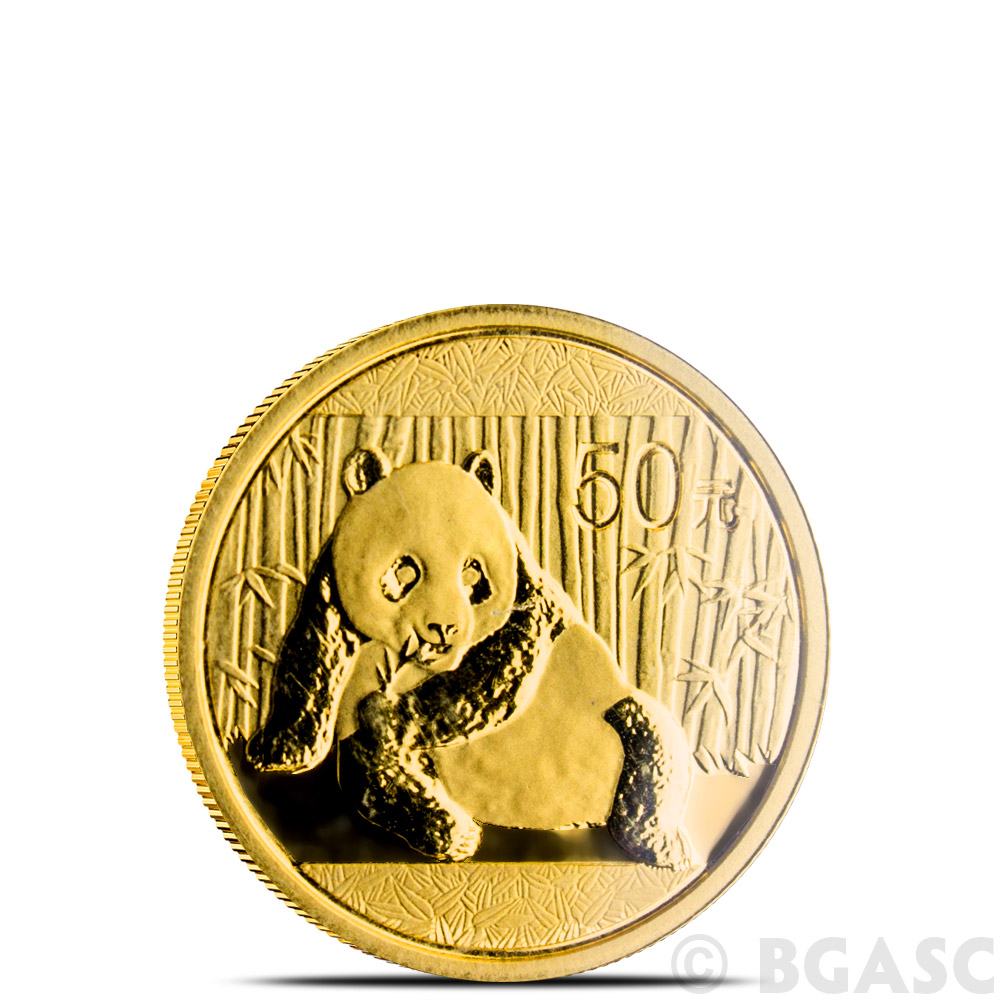 Buy 1 10 Oz 2015 Chinese Gold Panda Coin 50 Yuan Brilliant