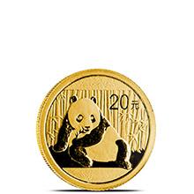 1/20 oz 2015 Chinese Gold Panda Coin 20 Yuan Brilliant Uncirculated