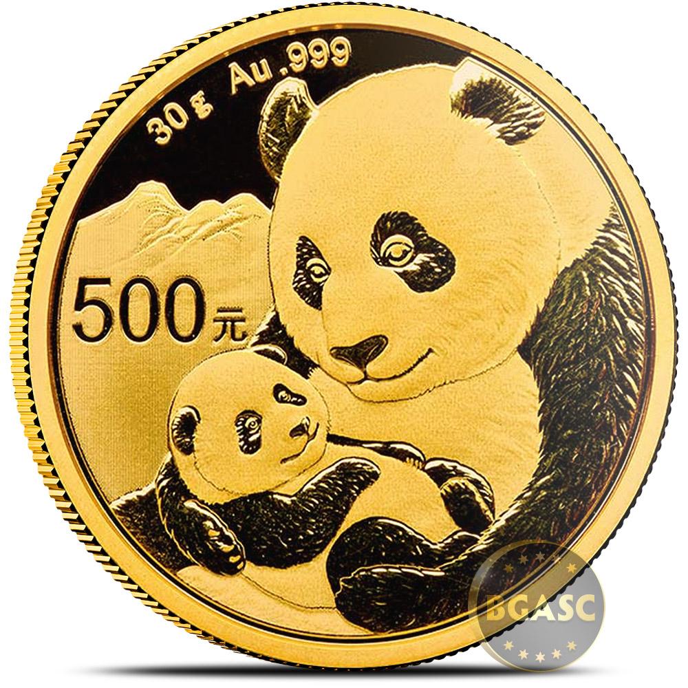 Buy 30 Gram 2019 Chinese Gold Panda Coin 500 Yuan