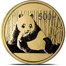 1 oz Chinese Gold Panda Coin Brilliant Uncirculated (Random Year)