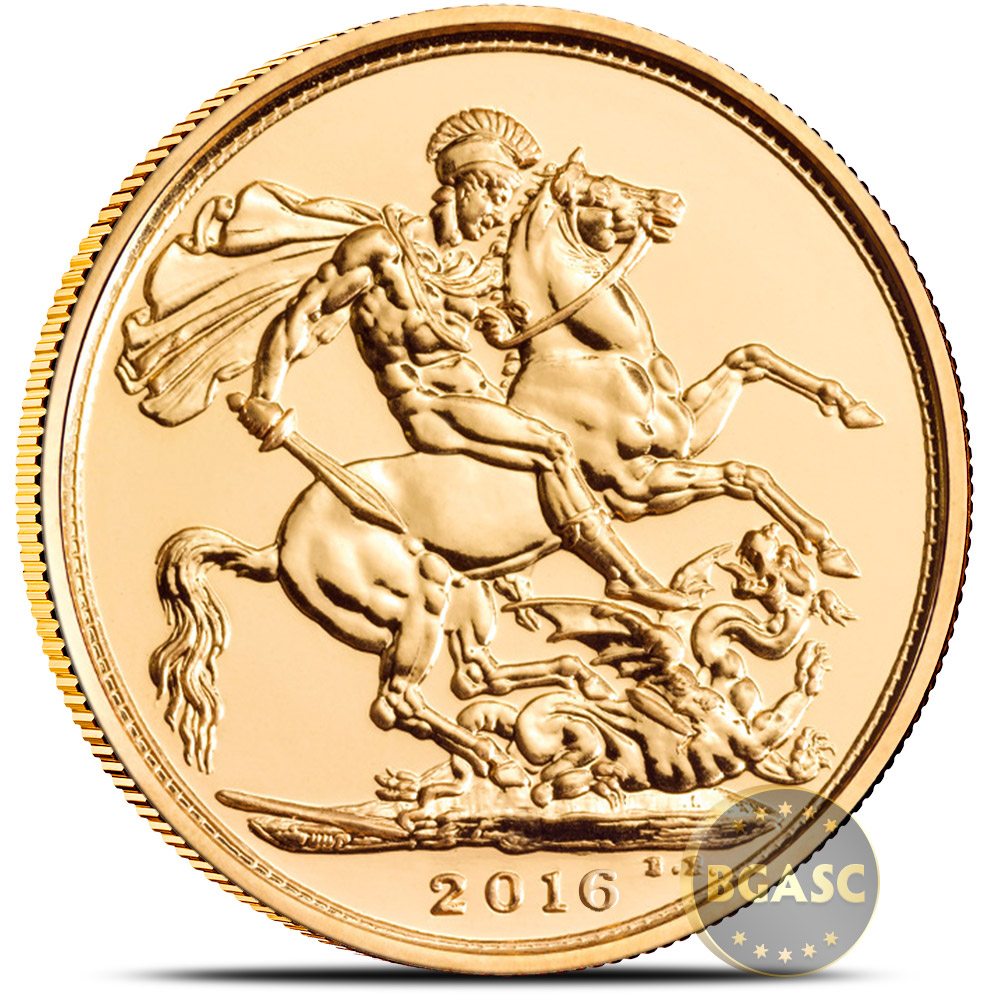 Buy 2016 Great Britain Gold Sovereign Coin Bu British