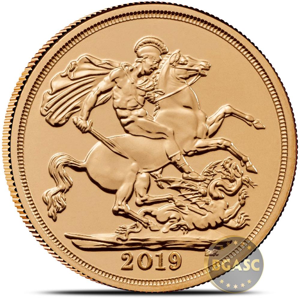 Buy 2019 Great Britain Gold Sovereign Coin Bu British