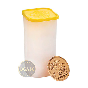 2020 Great Britain Gold Sovereign Coin BU - Image