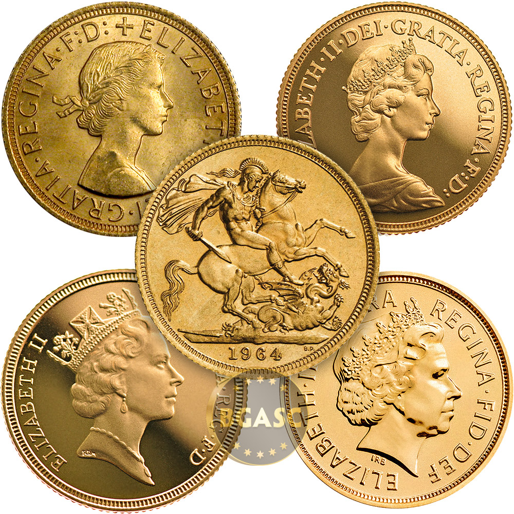 Buy Great Britain Gold Sovereign Coin Queen Elizabeth Ii