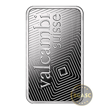 1 oz Valcambi Palladium Bullion Bar .9995 Fine Mint Sealed with Assay - Image