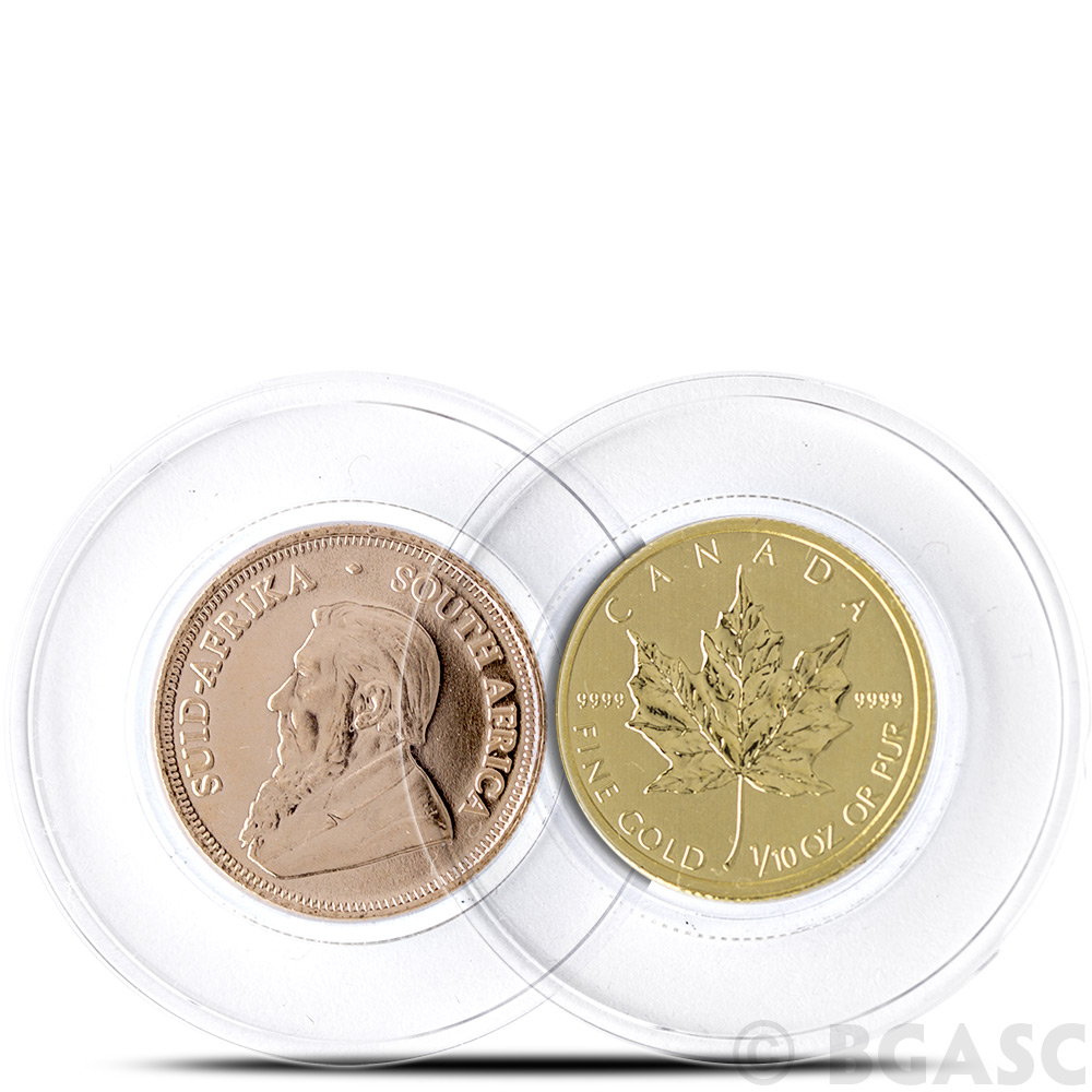 Buy 16 5mm Coin Capsules For 1 10th Oz Gold Coins Air
