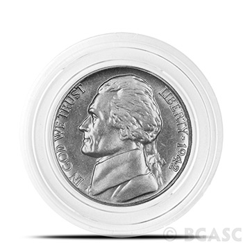 Air-Tite A21 Direct Fit Coin Capsule for U.S. Nickel - Image