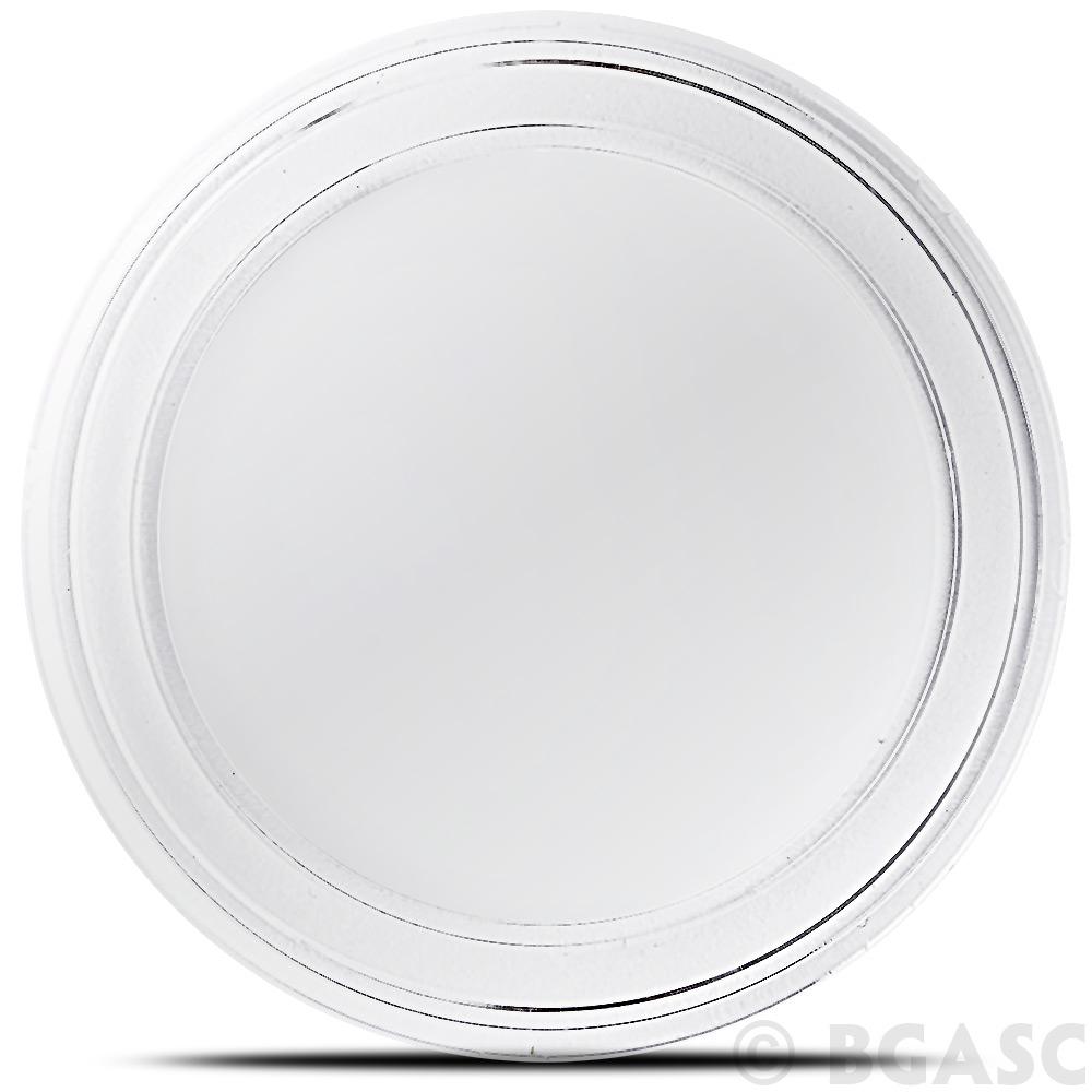 1 Gram X 10 .999 Fine Silver Gold Palladium Round Airtight Acrylic Holders Cases
