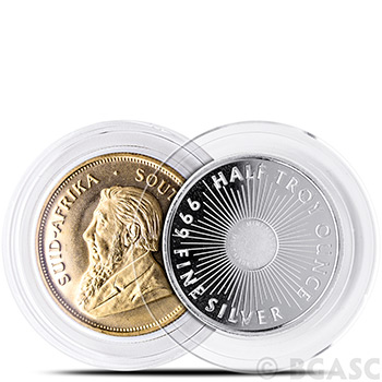 Air-Tite H32 Direct Fit Coin Capsule for 1 oz $50 Gold Eagle or Gold Buffalo - Image