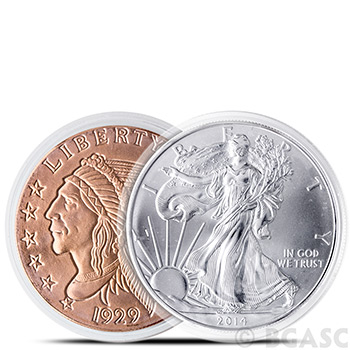 Air-Tite H40 Direct Fit Coin Capsule for Silver Eagle Coins - Image