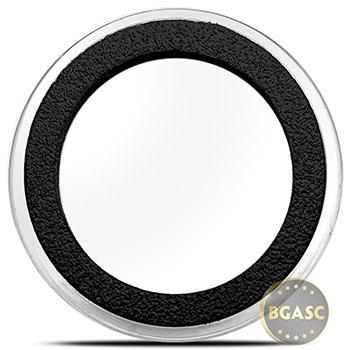 38mm Deep Coin Capsules for 2 oz Silver Queen's Beast Bullion Coins - Air-Tite X6D38 Deep Ring Type