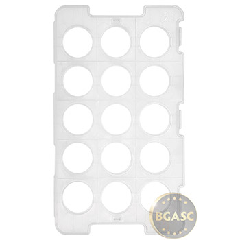 Chinese Silver Panda 15-Coin Tray (Empty) - CGCI