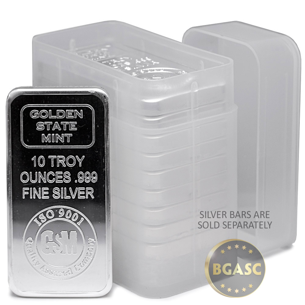 Buy 10 Oz Silver Bar Tubes Special Order Buy Gold And