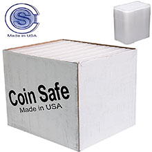 Bulk 1 oz Silver Bar Tubes - CoinSafe T-BAR-20B - 560 Count Case